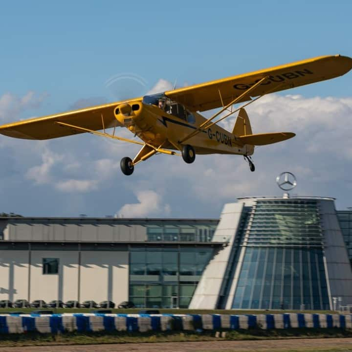 Brooklands Museum Aircraft Fly-In - Best Surrey August Bank Holiday Family Activities