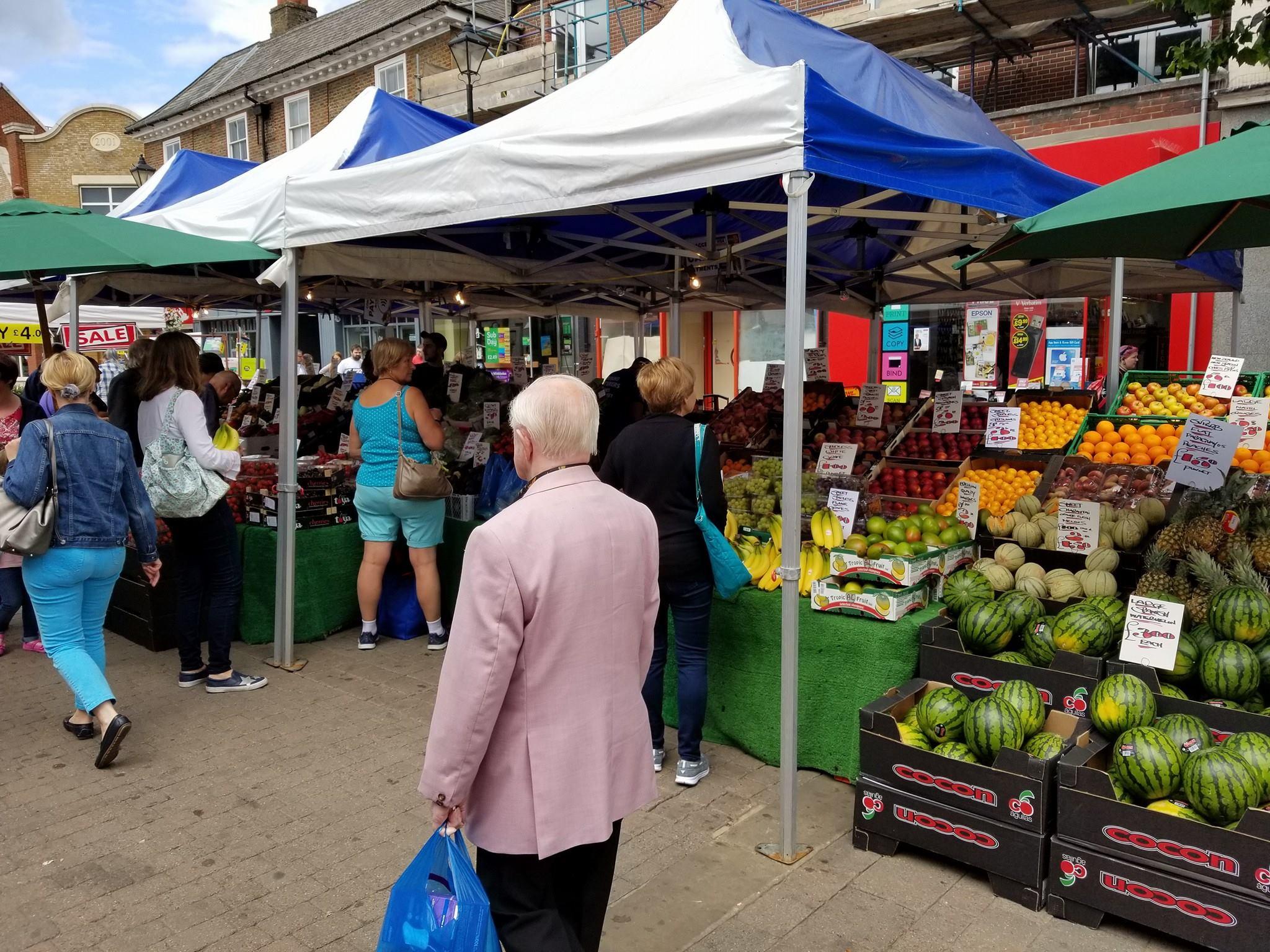 Staines Market - Best Surrey Marketplaces
