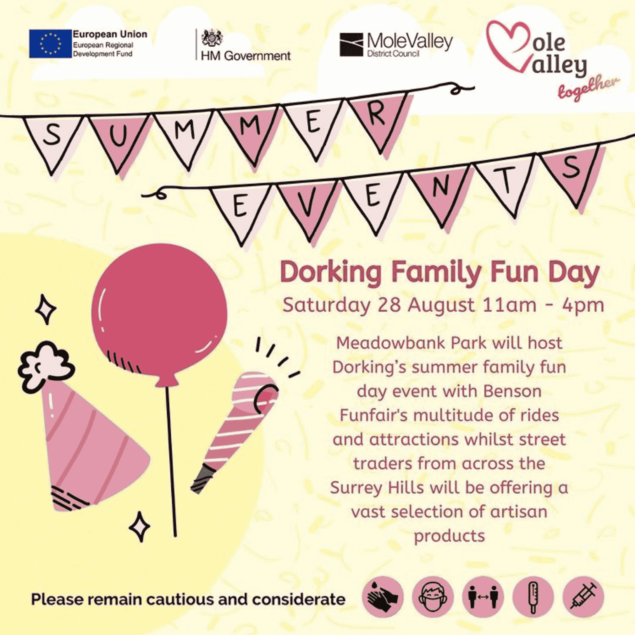 Dorking Family Fun Day - Best Surrey August Bank Holiday Family Activities