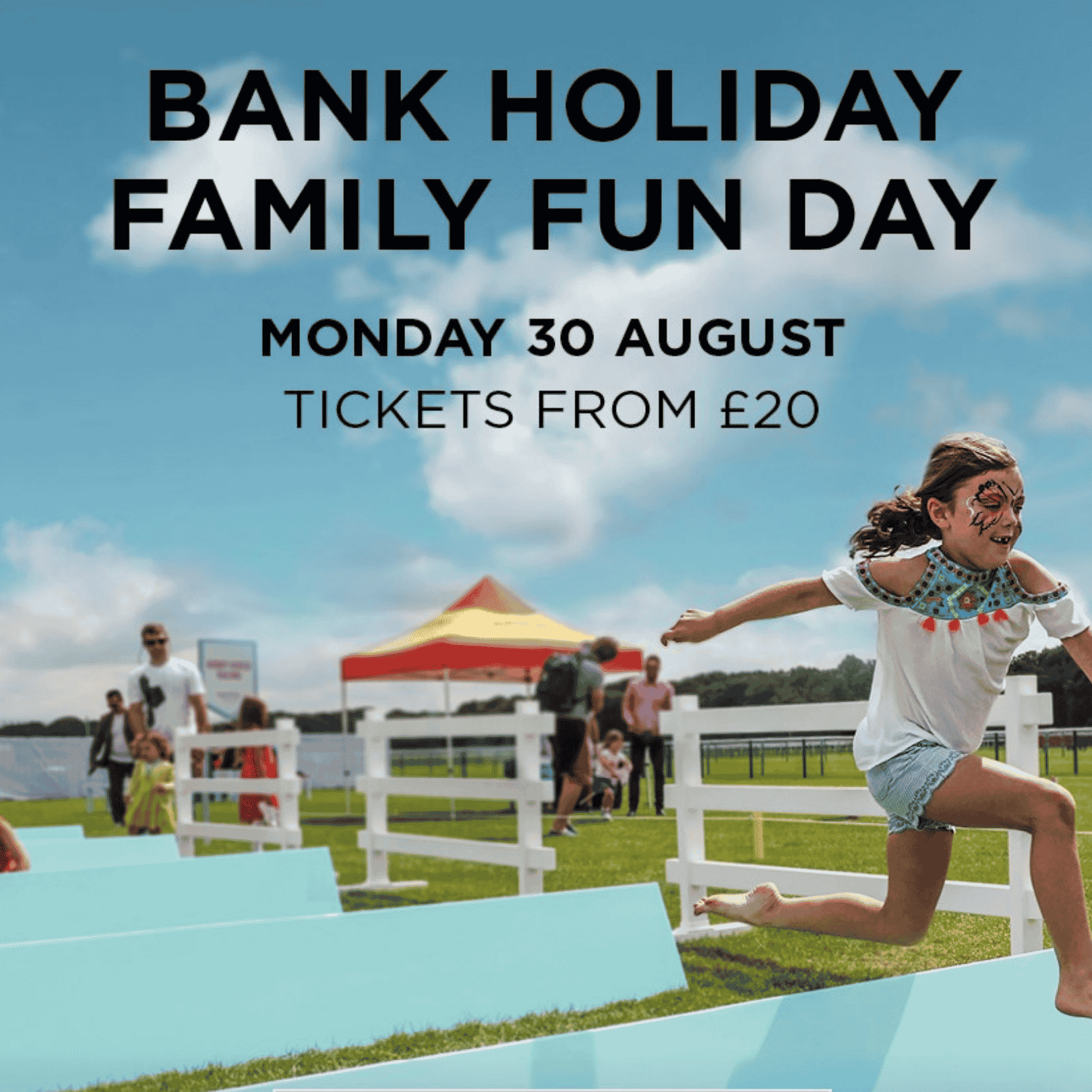 Epsom Downs Racecourse Family Fun Day - Best Surrey August Bank Holiday Family Activities