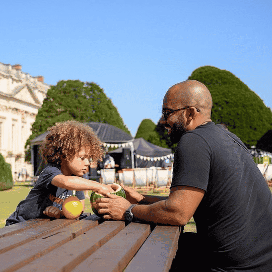 Hampton Court Palace Food Festival - Best Surrey August Bank Holiday Family Activities