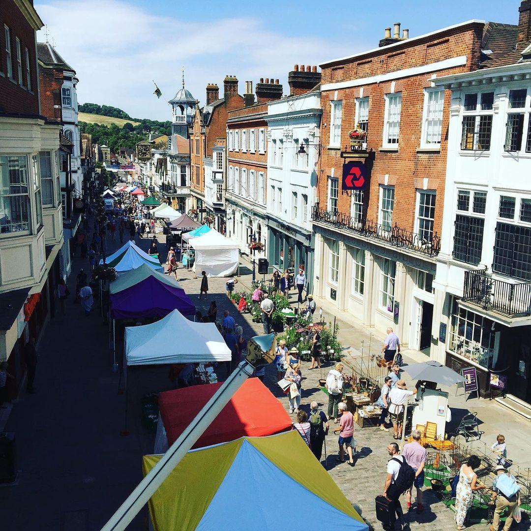 Guildford Farmers' Market - Best Surrey Farmers' Markets