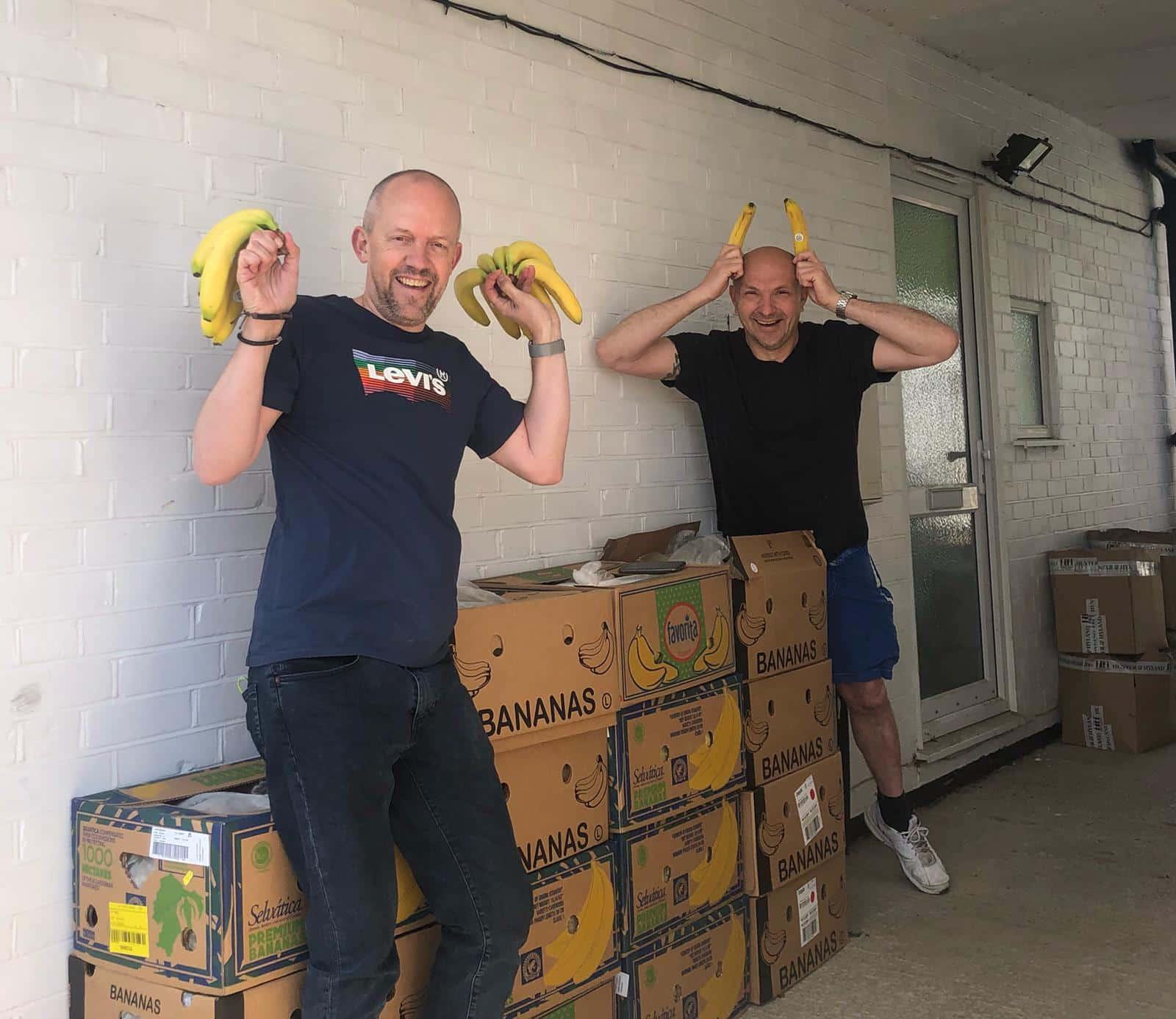 Lots of bananas to give away