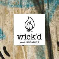 Wick'd Wax Botanics logo